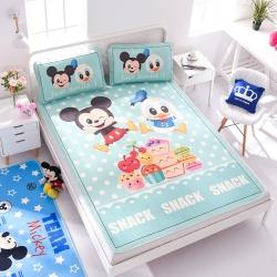 正版授权迪士尼Disney凉席冰丝席-美食派对 曼丝