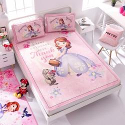 正版授权迪士尼Disney凉席冰丝席-梦幻花园 曼丝