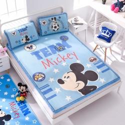 正版授权迪士尼Disney凉席冰丝席-米奇梦想 曼丝