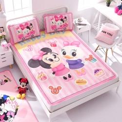 正版授权迪士尼Disney凉席冰丝席-甜品假日 曼丝