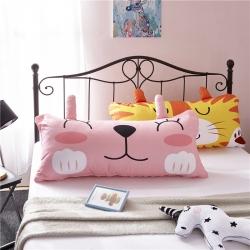 ins卡通靠垫靠枕兔子老虎狮子熊猫龙猫抱枕