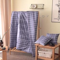 (总)屹宬家纺 2021款全棉印花抱枕被靠垫被两用抱枕被子