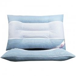 兴丝露枕芯  韩式中网定型护颈枕 保健枕 颈椎枕头