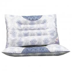 兴丝露枕芯  特价磁疗护颈枕灰蓝 保健枕 枕头