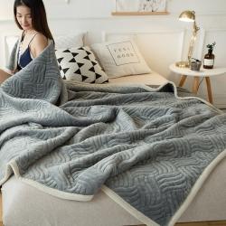 (总)  冬季毛毯空调毯加厚珊瑚绒盖毯法兰绒午睡毯毯子