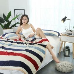 加厚双面绒云貂绒毛毯 床单法莱绒毯子 珊瑚绒毛毯云貂绒枕芯套