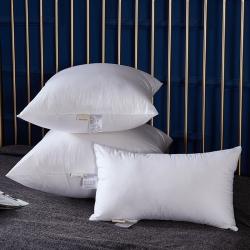 80S全棉纯棉贡缎羽丝绒靠枕抱枕芯沙发靠垫芯办公室汽车靠枕芯