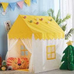 梦想屋 儿童游戏屋分床神器游戏帐篷小房子系列黄色款