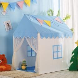 夢想屋 兒童游戲屋分床神器游戲帳篷小房子系列藍色款