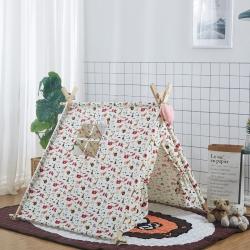 夢想屋 兒童游戲屋分床神器游戲帳篷方頂系列 動物樂園