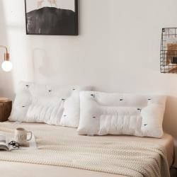 凯罗秋冬决明子枕 酒店枕头 低枕护颈枕枕芯--快乐小鱼
