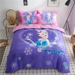 (总)全棉大版卡通三四件套纯奥特曼叮当猫小猪佩奇琪爱艾莎公主