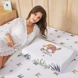 新皇家乳胶枕头大象乳胶枕泰国天然乳胶枕头一件代发带钢印防伪码