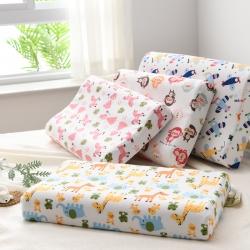 泰国天然乳胶枕 枕芯护颈儿童颈椎枕 小童44*27cm
