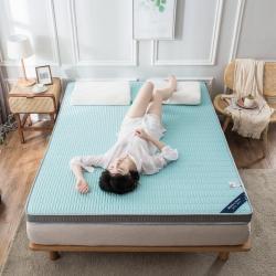 2020春夏新款冰丝乳胶凉感记忆海绵床垫加厚透气防滑高回弹