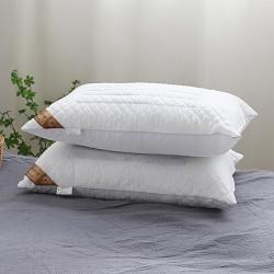 微枕芯2019新款絎縫決明子枕頭簡約單人枕芯頸椎枕家用