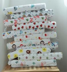 微枕芯泰國兒童乳膠枕頭2-12歲高低平滑乳膠枕芯