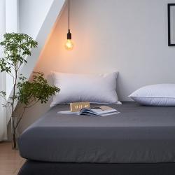 全尺寸定制全棉水洗棉床笠單件純棉床罩床墊保護套特殊尺寸克定制 銀箔