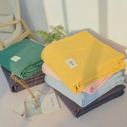 晓苑(总)新款全棉水洗棉夏被新疆棉花夏被全棉空调被夏凉被儿童