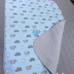 风行家纺 婴儿水洗密垫70*100 小羊