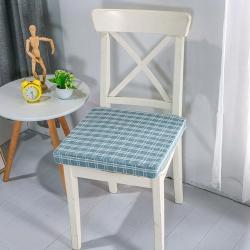 U品匯2020北歐現代辦公室椅學生凳椅墊海綿坐墊提花雅韻藍