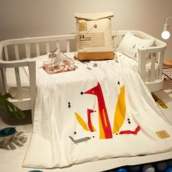 (总)香夫 2020新款儿童数码印花纱布套