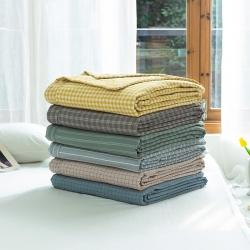 (总)2020新款全棉色织棉花被夏凉被空调被学生名宿被