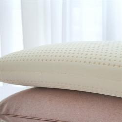 万蒂纳特拉雷天然乳胶枕物理发泡呵护颈椎面包枕70*40*13