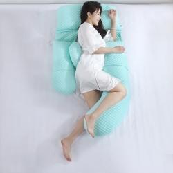 沃耀 2020新款孕产品孕妇枕气泡针织棉系列 绿色