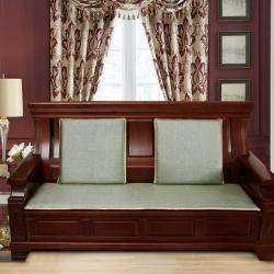 米利恩 2020新款藤格仿古沙發墊 仿古綠