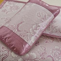 泰康席業 2020新款冰絲枕套 冰絲枕套-深紫