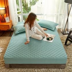 (總)麗芙 2020新款工藝款夾棉床笠淺色背景
