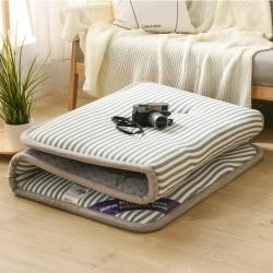 (总)金圣伦 2020新款水洗棉宽边床垫学生垫