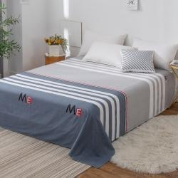 2020全棉喷气单床单128*68单品纯棉斜纹单件床单