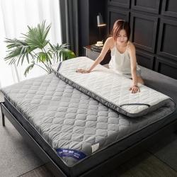 (总)米帛 2020新款磨毛加厚防滑床垫5cm