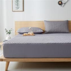 (總)迪樂妮 2020新款乳膠涼感床笠三件套 灰色