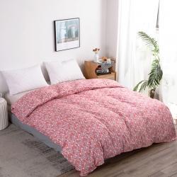 港島妹妹 2020新款蘆薈棉單被套 粉紅浪漫