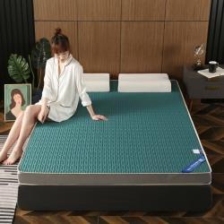 总-艾尚床垫2020新款冰丝乳胶凉感记忆海绵床垫加厚透气防滑