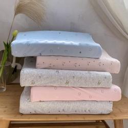 泰国乳胶枕头单人颗粒按摩学生护颈椎枕一对装乳胶枕芯
