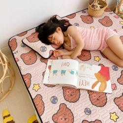 魚寶 2020新款兒童涼感乳膠席 餅干熊