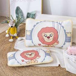 吉咪兔 2020大版卡通冰絲涼席枕套氣球獅子