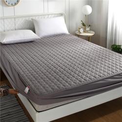 暖她新款單件夾棉床笠 床罩  床墊保護套磨毛化纖床笠