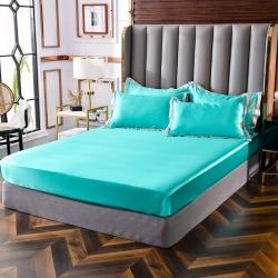 (總)經年家紡 好面料絲綢水洗真絲單獨單件單床笠全部圖片