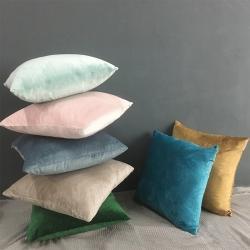 (總)麗彩 2020新款純色荷蘭絨抱枕套