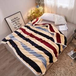 九州星 2020新款260克加厚包邊款毛毯網銷贈品毛毯 裸婚時代