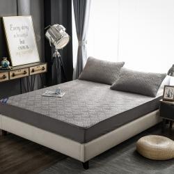 金米諾 2020新款全棉純色床笠 深灰