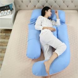 好孕家紡 2020新款G型孕婦枕 藍粉雙拼