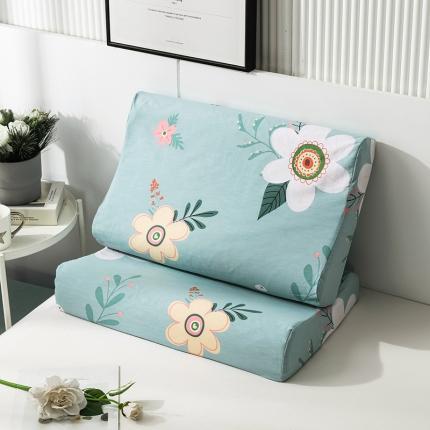 2020 全棉乳胶枕套一对装 花儿朵朵