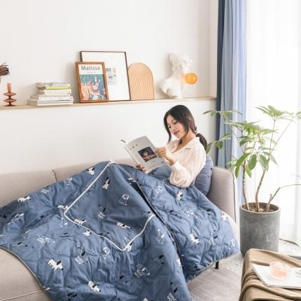 (总)暖树家居 2020新款多功能印花抱枕被