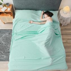 (总)西西家居 2021新款60长绒棉隔脏睡袋